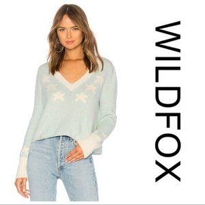 NWT Wildfox Star Girl Ace Sweater
